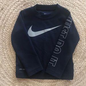 Nike Dri-Fit Navy Shirt